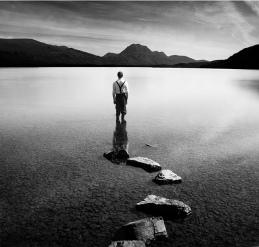 Photo Bill Brandt - Loch Maree after